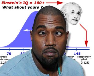 kanye IQ 48