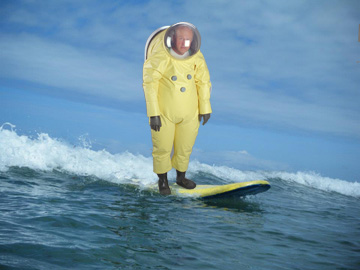 Surf's up..and so's the radiation