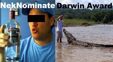 NekNominate vs Darwin Award