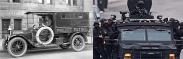U.S. Police Then and Now