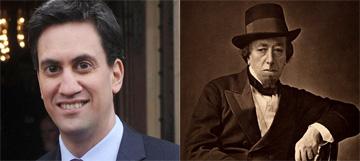 Ed Disraeli next to someone who looks a bit like Bob Dillon