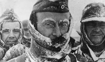 The Russian winter strikes again