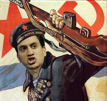 Red Ed Miliband