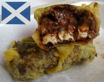 One and a half new Scottish battereds will not get you much apart from indigestion