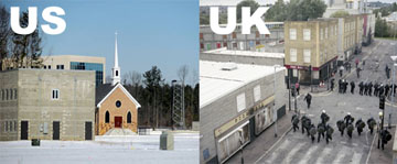FAKE TOWNS US AND UK