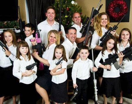 US Gun Family