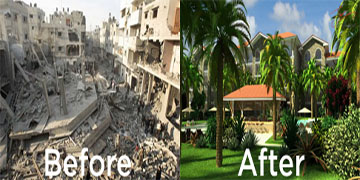 gaza before - after