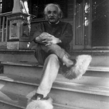 einstein-fuzzy-slipper-theorem