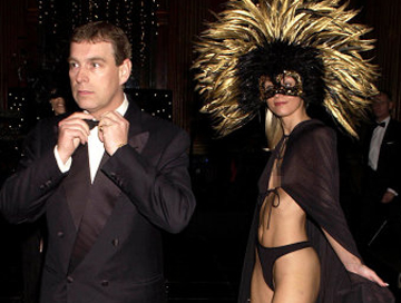 Prince Andrew and slave