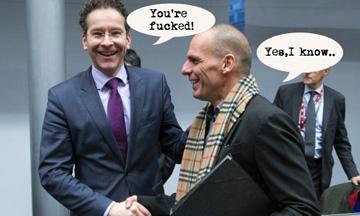 Dijsselbloem meets Varoufakis