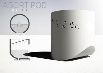 Abort Pod conceptual design - Klinic & Sol Partners LLC