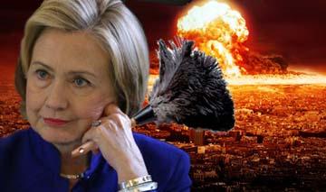 Hillary duster nuclear