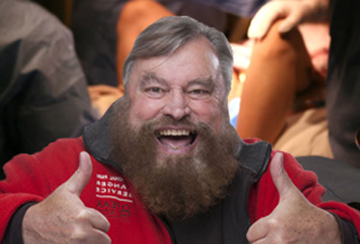 brian blessed baby