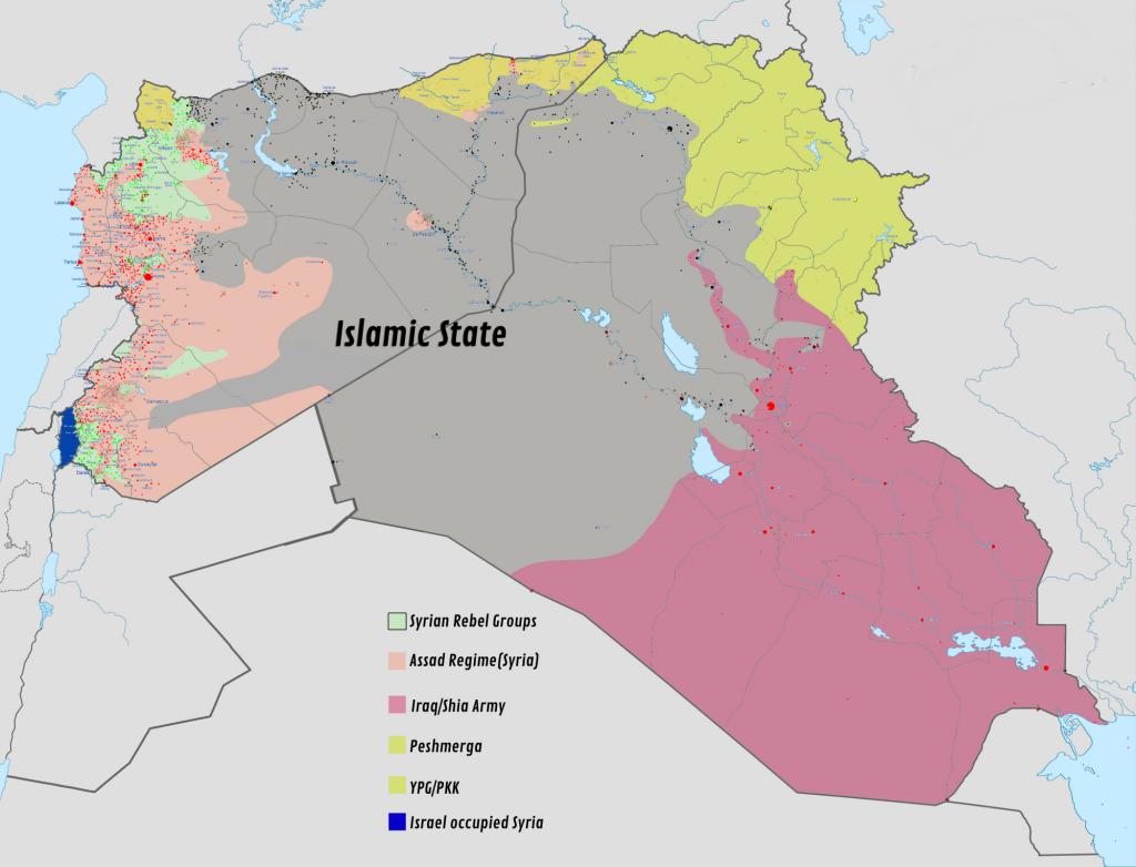 ISLAMIC STATE TERRITORY