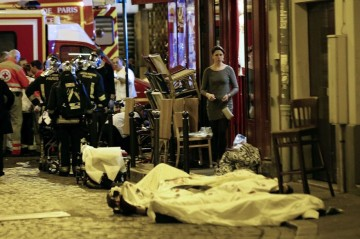 Paris terror attack Friday 13