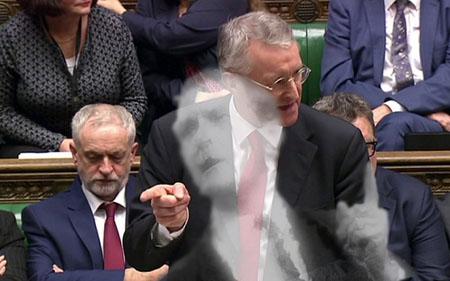 Hilary Benn - Tony Benn ghost