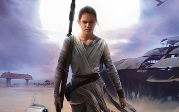 Rey Force Awakens