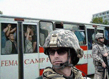 fema camp bus