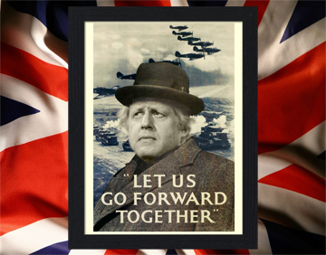 boris churchill-let-us-go-forward-together-winston-churchill-1940-poster