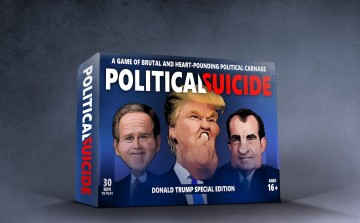 Political Suicide Box Only on Grey
