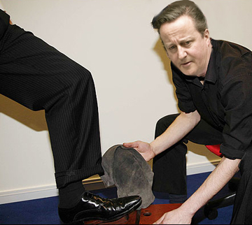 shoeshine dave