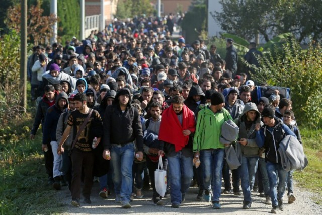 Schengen mass migration