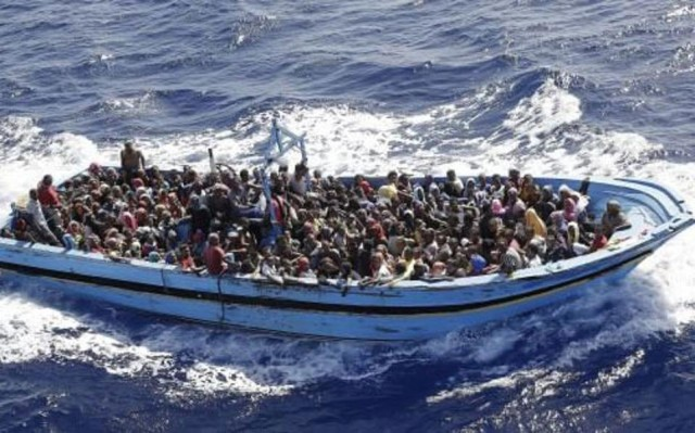 eu migrants boat