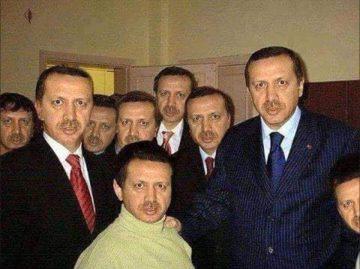 From left to right,  Erdo Gone, Erdo, Erdogunner, Erdo Go...etc