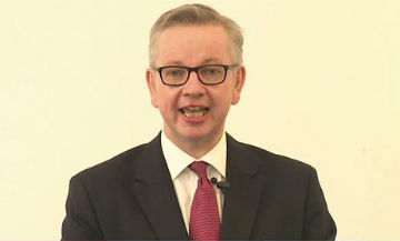 Gove pitch