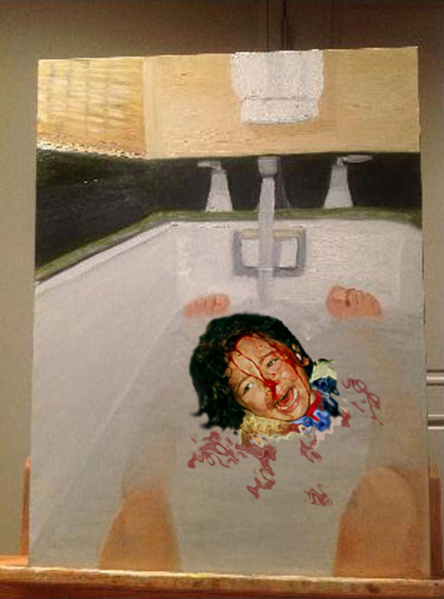what do george w bushs paintings mean daily squib