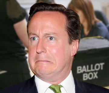 Cameron votes