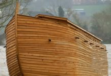 noahs ark somerset flood
