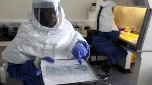 Room service at the Ebola hotel