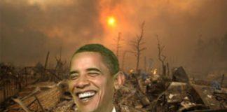 Obama laughs