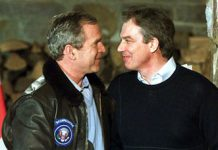Bush and Blair Iraq