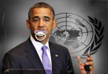 Obama at UN dummy