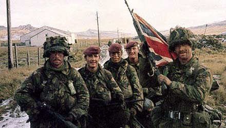 British Army Falklands