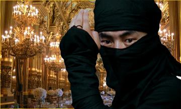 ninja paris opera house