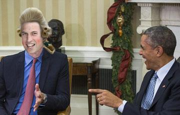 prince william-obama