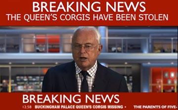 queen's corgis stolen