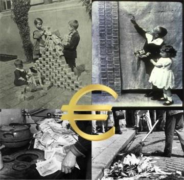 QE Euro Hyper Inflation