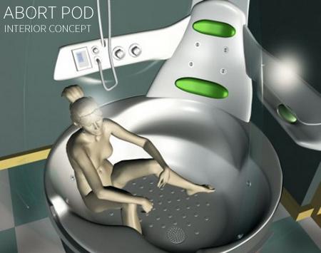 ABORT POD INTERIOR