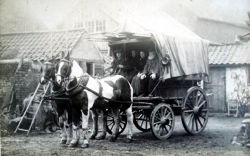 HORSE CART 19TH CENTURY