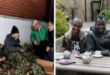 homeless vets uk illegal migrants