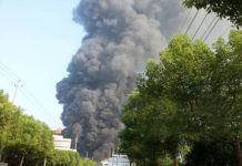 Chinese chemical explosion zhejiang
