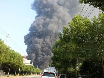 Chinese chemical explosion zhejiang