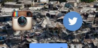 earthquake social media