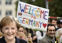 welcome to germany merkel