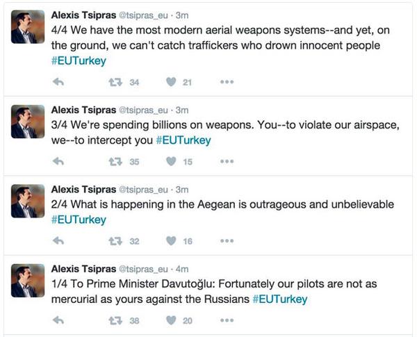 Greek Tsipras Tweet