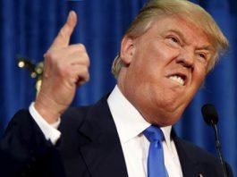 trump finger